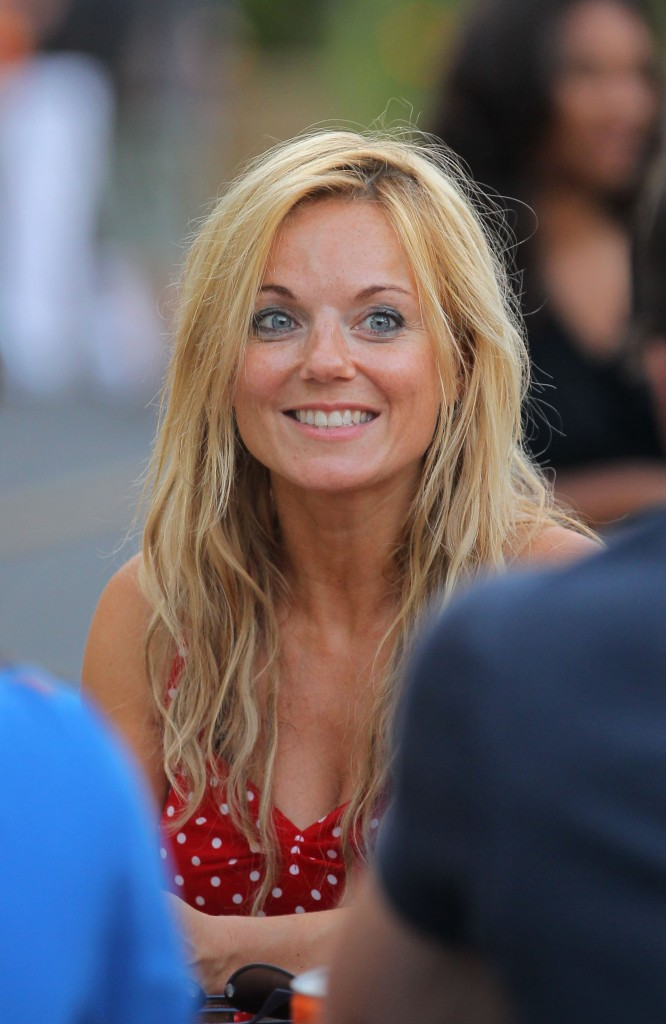 geri halliwell end Geri Halliwell and her daughter Bluebell Madonna out and about in Monaco
