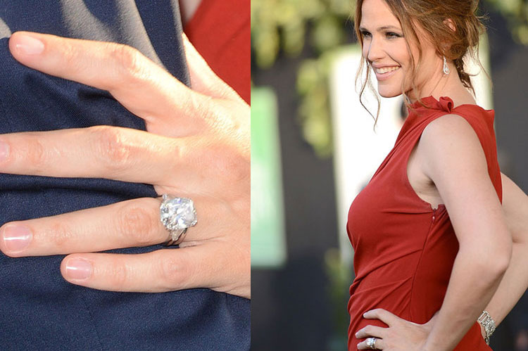Jennifer Garner Engagement Ring